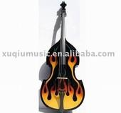 SNDB008 Flame Double Bass,Handmade Double Bass