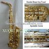 Professional Alto Saxophone With Double Brass Key