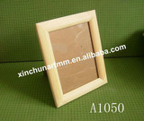 Unpainted Solid Wood Photo &Picture Frame