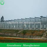 low cost fabric plastic greenhouse