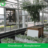 glass greenhouse cooling pad system