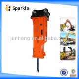 Box-silenced type hydraulic breaker
