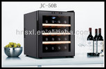 50L 16 bottles thermoelectric wine cooler/ wine refrigerator JC-50B