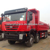 8 Wheel Genlyon iveco truck sale dump truck