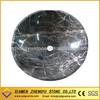 Emperador brown stone sink bowl