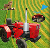 Tractor supply 22hp mini tractor,6+2shift