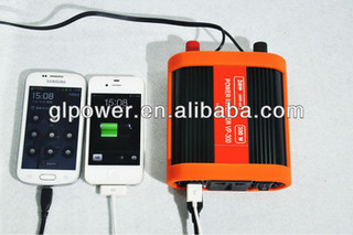 300W Mini DC-AC Car Inverters for phone computer and camera