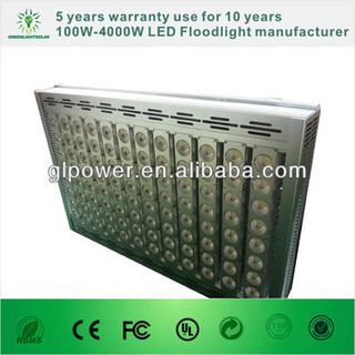 5 years warranty led floodlight 800w outdoor LED for led light fixtures/led sport light