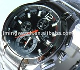 top metail six hands men`s watch