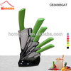 New Stylish best ceramic knife / 5 pieces colored ceramic knife set / ceramic knife knives color