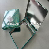 colorful rectangle tin jewelry box
