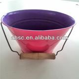 small tin bucket high quality