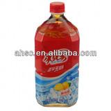 1L bottled ice black tea drink,lemon tea drink