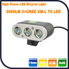 3000Lumen 3 CREE XML T6 LED Dynamo For Bike And Bicycle Dynamo