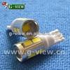 Superbright 194 8smd 5630+5w cree T10 led auto Bulb t10 cree 5630 bulb