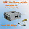 60A 48V MPPT solar controller, MPPT charge controller 60A, RS communication, LCD display