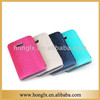 leather mobile phone flip case for HTC 802W