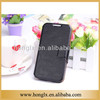 leather wallet mobile phone case for samsung galaxy S4