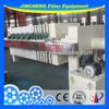 sludge dewatering filter press machine