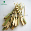 eco-friendly polished round bamboo skewers BBQ bamboo skewers
