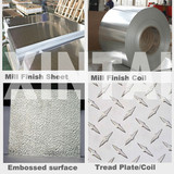 1,3,5 series DC CC route mill finish Aluminum sheet/plate/coil