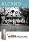 Villa gate automatic roller swing gate opener