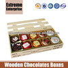 Natural Wooden Chocolate Boxes