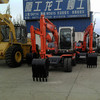 AMZ 75W-8 7ton Hydraulic Wheel Excavator With New Excavator Price