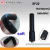 SMA/BNC radio Soft antenna SF20 for dual band radio UV-5R