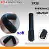 SMA/BNC radio Soft antenna SF20 for dual band radio UV-5R