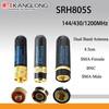 SRH805S TOP Popular dual band walkie talkie BNC Antenna