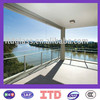 laminated safety glass for balustrades