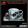 High quality melamine coffee cups and saucers