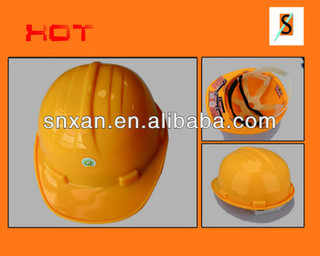 PE cheap construction safety helmet high quality