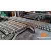 Extrusion twin screw barrel for plastic machinery