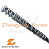 screw barrel,PE film extrusion screw barrels, extruder screw barrels single screw barrels, extrusion screw barrel