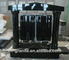 absolute black granite carved bible headstone