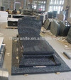 Blue pearl granite headstone tombstone monument for sale (shanxi black)