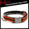 100% Nylon Personalized Dog Collar Manufacturer