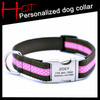 Custom Design Personalized Dog Collar With Metal Buckle