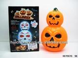 salable flash pumpkin lantern halloween with music