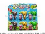 bubbles gun 6 pcs ,new series