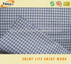 100% cotton yarn dyed check woven shirting fabric