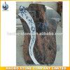 Haobo Stone Quality flower Monuments Granite Tombstone