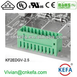 male pin header plug terminal block 2.5mm pitch wire connector for wire to board connector female terminal connector 150V 5A