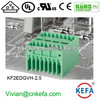 Dual row male pin plug terminal block 2.5mm pitch wire connector for wire to board connector female terminal connector 150V 5A