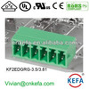 Right angle pin header Plug Terminal Block connector with UL CE ROHS for wire to board connect 300V 10A Connector with lock slot