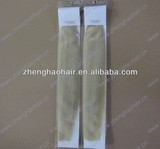 Stick Tip Remy Human Brazilian Hair Extension/20Inch 0.5g/strand Keratin I tip Hair Extension