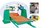 Single-head automatic marble slab polishing machine
