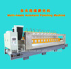 Multi-heads automatic marble slab polishing machine